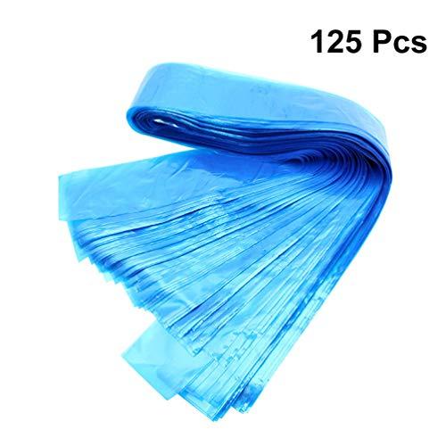 Healifty bolsa de manga de cable de clip de tatuaje máquina de tatuaje desechable cubre bolsas tipo pluma de filtro para equipo de tatuaje 125 piezas (azul)
