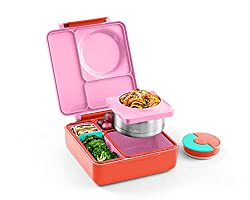 professional Children's OmieBox Lunch Box – Lunch Box with Airtight Thermos for Food – 3…