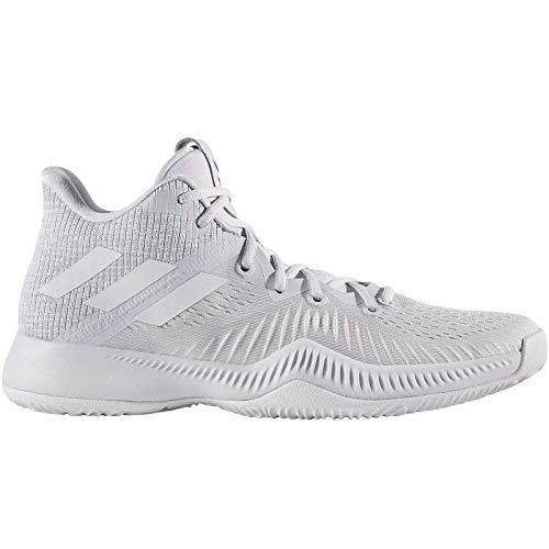 adidas Mad Bounce, Zapatos de Baloncesto Hombre, Gris (Lgsogr/Greone/Ftwwht 000), 47 1/3 EU