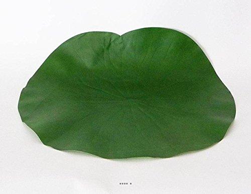 Artificielles.com - Lotus Nenuphar sous Assiette Vert D 29 cm Decoration