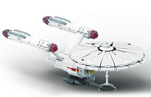 Brigamo NCC-1701 BAUSTEINE Raumschiff, Enterprise Edition 1220 Klemmbausteine