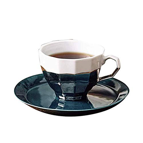 WZHZJ Nuevo diseño Simples de la casa de cerámica de la Mano la Taza de café y platillo, la Copa Cambio de Color