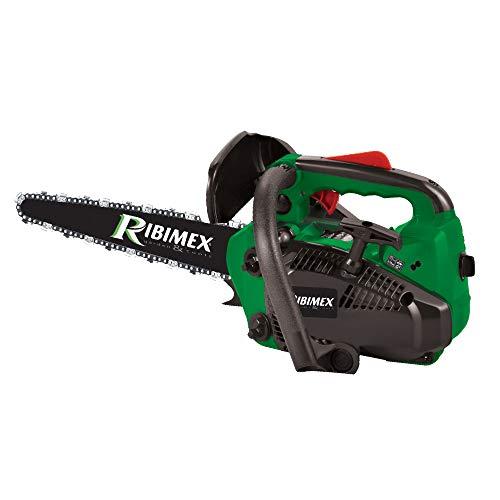Ribimex PRTRT300/LC Motosierra de poda Carving, verde, hoja de 300 mm