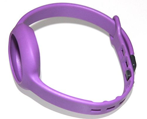 1pc Purple Small/Slim Size Strap Band For JAWBONE UP MOVE Bracelet Smart Band (No Tracker) Replacement Bands Wireless Fitness Accessories Pedometer Tracking Exercise Sport Activity