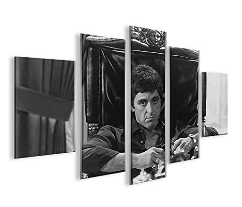 islandburner Bild Bilder auf Leinwand Al Pacino MF XXL Poster Leinwandbild Wandbild Dekoartikel Wohnzimmer Marke islandburner