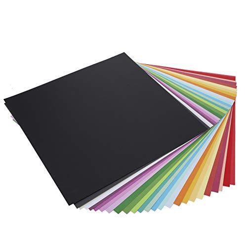 Papel de color, papel de fondo para bricolaje Decoraciones diversas para origami de bricolaje para imprimir patrones