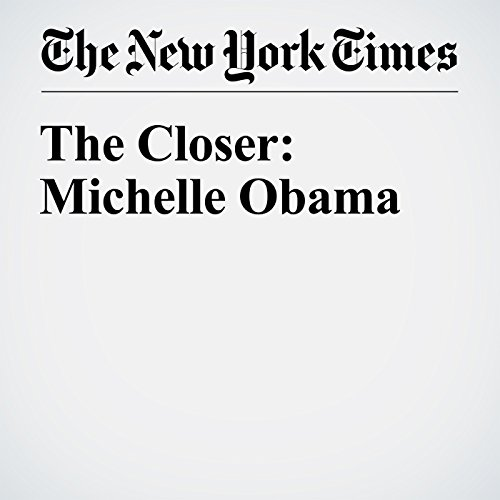 The Closer: Michelle Obama cover art