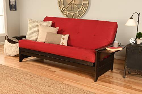 Great Features Of Kodiak Furniture Phoenix Futon, Suede Red