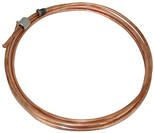 AERZETIX: Línea de freno manguera tubo de cobre Ø4.76mm con racores F10x1/M10x1 (350cm)