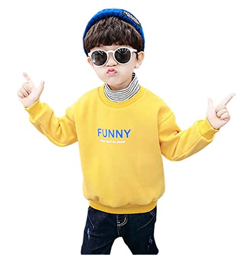 GL SUIT Kids Sweater Half Coltrui Sweater Jongens Jumper Meisjes Fleece Voering Pullover Lange Mouw Letter Print Sweater Herfst Winter Dubbele Warm Kinderen Top