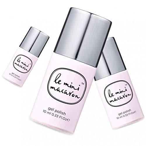 Le Mini Macaron • Vernis à Ongles UV 3 en 1 • Nail Gel Semi-Permanent • Séchage LED • Rose Meringue Couleur Rose Pâle • 10ml