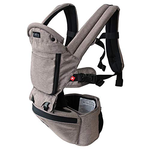 Product Image of the MiaMily Hipster Plus Hip Seat Baby Carrier, 6 in 1 Front and Back, Lumbar...