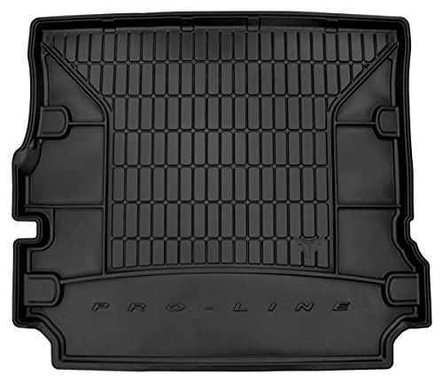Dry Frogum Protector Maletero de Goma Compatible con Land Rover Discovery 3 2004-2009 (7 Plazas, 3º Fila Tumbada) | Alfombrilla Maletero Coche Accesorios | Ideal para Perro Mascotas