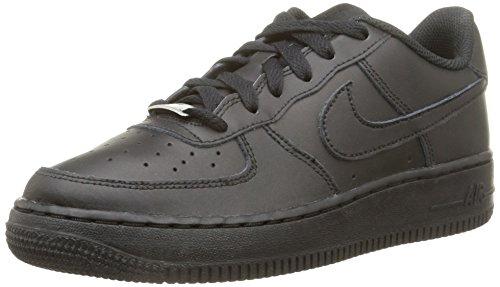 Nike Air Force 1 (Gs) Basketballschuhe, Schwarz, 40 EU