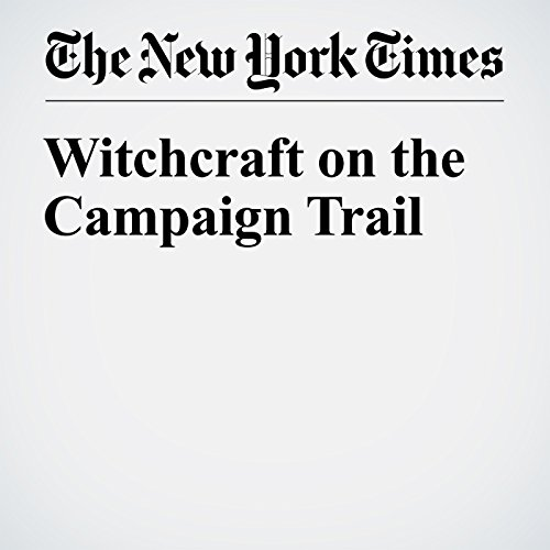 Witchcraft on the Campaign Trail audiobook cover art