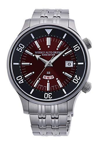 [オリエント時計] 腕時計 リバイバルコレクション Revival オリエント70周年企画 70thAnniversary キングダイバー復刻 KingDiver 限定500本 RN-AA0D12R メンズ シルバー