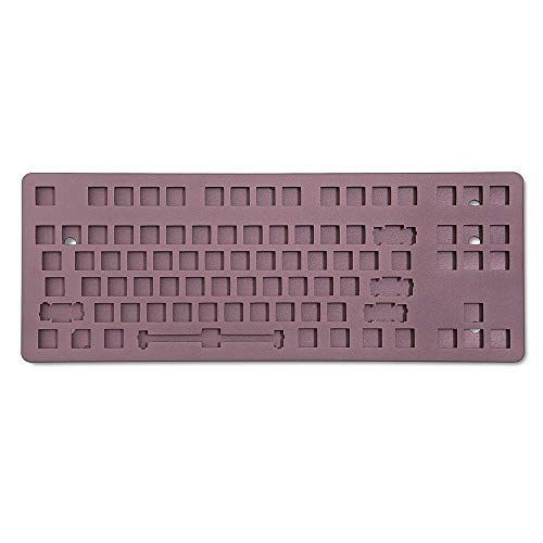 DROP CTRL Aluminum Case - Anodized TKL Low-Profile Aluminum Case (Dark Purple)