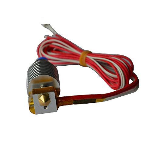 WANGZHI Hotend Print Head V5 Extruder for for 3D Printer 1.75mm Filament 0.4mm Nozzle I3 Mega