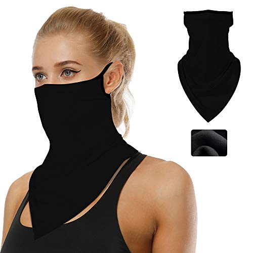 Winter Face Scarf Warmer Bandana Ear Loops Face Cold Weather Balaclava Neck Gaiters for Dust Wind Motorcycle Mask Style #1