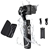 Hohem iSteady Pro 3, 3-Axis Handheld Gimbal Stabilizer Compatible for Action Cameras Hero 8/7/6/5/4/3 DJI OSMO Action Insta360 One R Sony RX0 YI Cam, 12hrs Battery Life Action Cameras Control