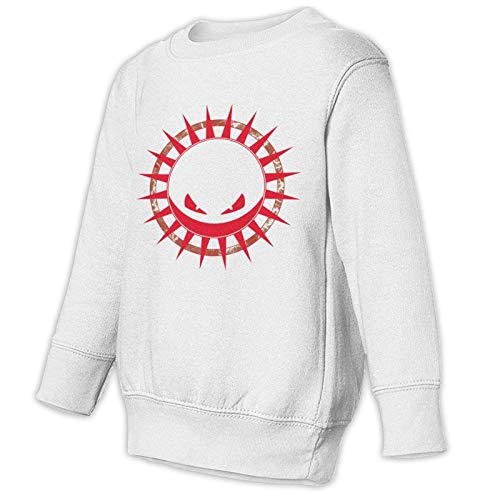 SSNB Kids Toddler Voltorb Sweatshirt Boys Girl Crewneck Pullover Tops White