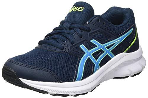 ASICS Jolt 3 GS Road Running Shoe, French Blue/Digital Aqua, 33.5 EU