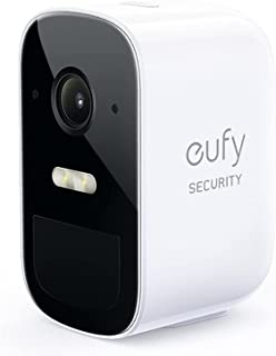 Eufy Security by Anker eufyCam 2C Pro Wireless Home Security Add-on Camera, 2K Resolution, 180-Day Battery Life, HomeKit C...