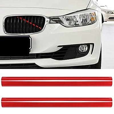 Grille Insert Trim Stripes for BMW F20 F30 2012-2018 320i 328i 330i 335i 428i Car Kinney Accessories