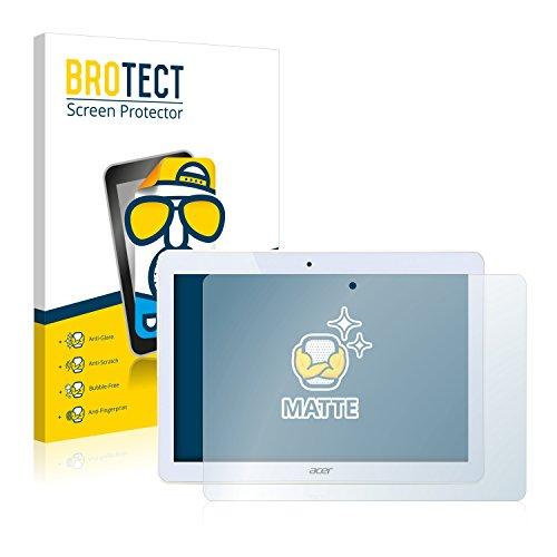 BROTECT 2X Entspiegelungs-Schutzfolie kompatibel mit Acer Iconia One 10 B3-A10 Bildschirmschutz-Folie Matt, Anti-Reflex, Anti-Fingerprint