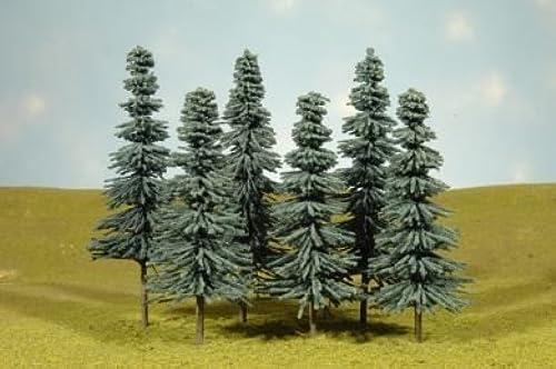 salida de fábrica Scenescapes azul Spruce Trees, 8-10  (3) by Bachmann Bachmann Bachmann Trains  los nuevos estilos calientes