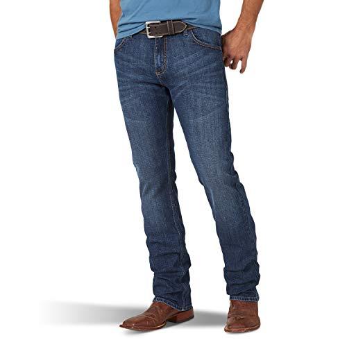 Wrangler 20X Slim Fit Jeans Rectos para Hombre, Victoria, 28W x 34L