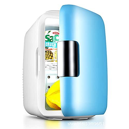 HHKAZ Mini kühlschrank 2 in 1 Tragbarer...