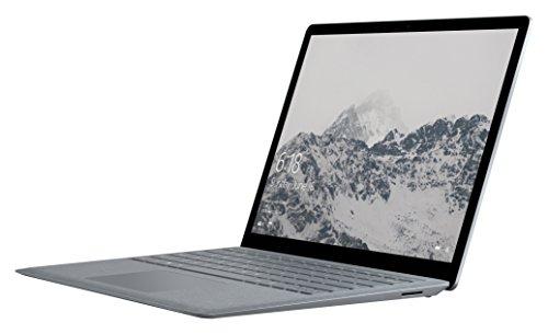 Microsoft Surface Laptop, 13.5 Pollici, Processore i7, RAM da 8 GB, SSD da 256, Platino [Italia]