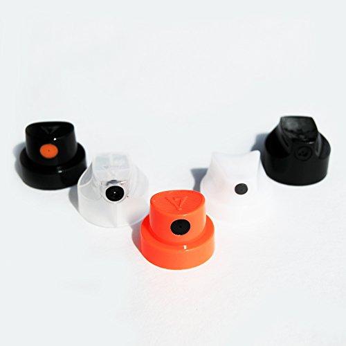 MTN - Boquillas de pintura en aerosol (50 unidades, varios colores)