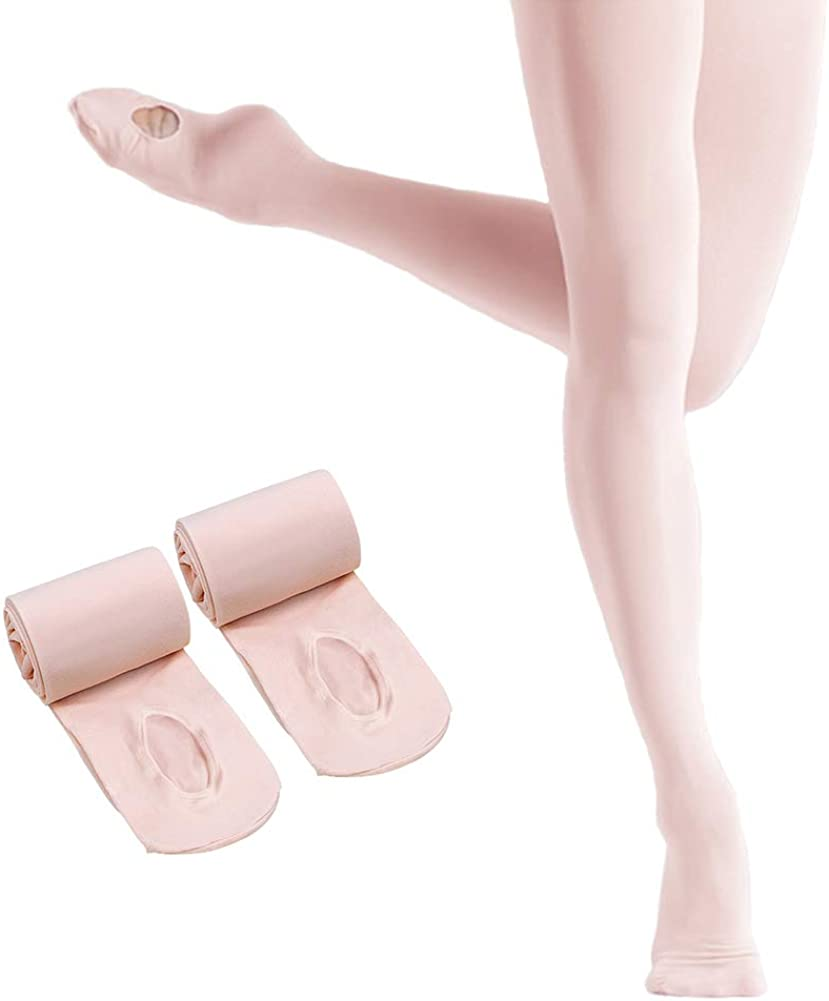 HETH Ballet Tights for Girls Soft Dance Recommendation Con Toddler Ultra Fashion