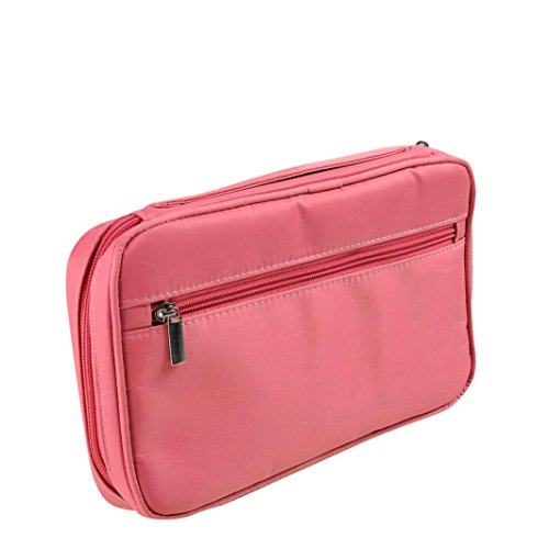 OVERMAL Rose- Pro Sac à Maquillage Pinceau CosméTique Outil Brosse Organisateur Holder Poche Pocket Kit