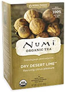 Numi Tea Dry Desert Lime Herbal Tea ( 6x18 BAG)