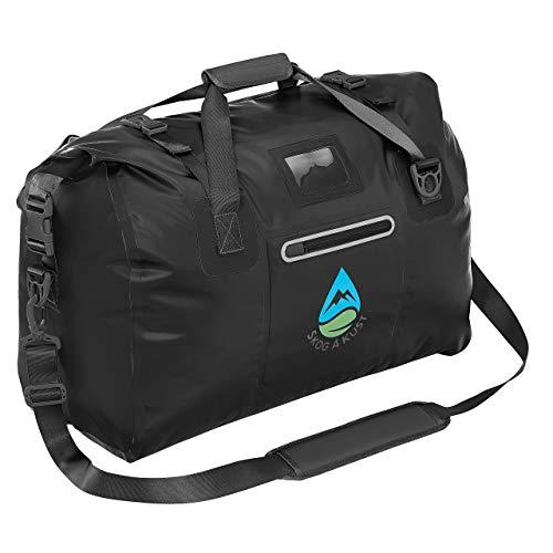 Skog Å Kust DuffelSak Waterproof Duffel Bag | 60L Black