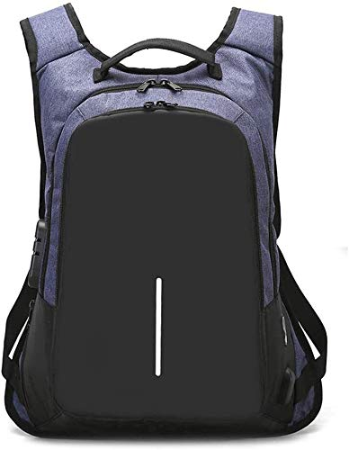 LFSP Heavy Bass Headphone Earbubs Earphone Fashion laptop backpack, commercial anti theft laptop bags, laptop bags, with USB charging port university school calculation. for Sports,Workout,Gym