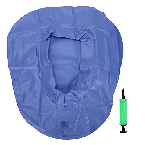 WNSC Cama hinchable para pacientes con canapé de PVC lavable y portátil para personas mayores