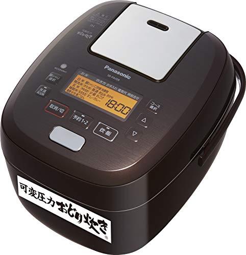 パナソニック 炊飯器 5.5合 可変圧力IH式 おどり炊き ブラウン SR-PA109-T