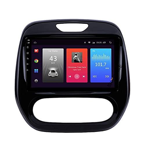 Navegación GPS, Android Car Stereo Sat Nav para RENAULT CAPTUR 2018 Sistema de unidad principal SWC 4G WIFI BT USB Mirror Link Carplay integrado