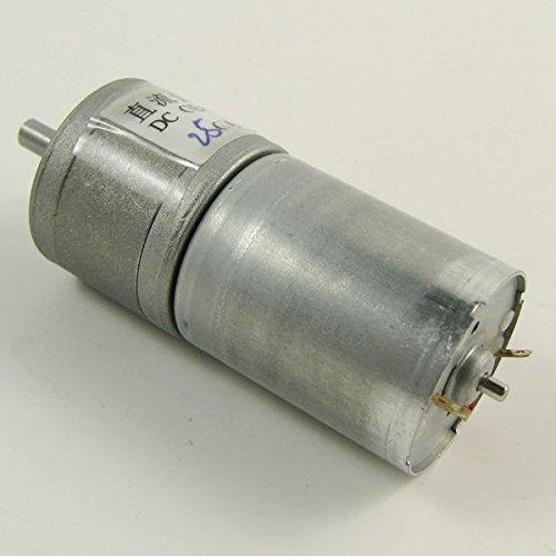 12V DC 200rpm 25mm puissant à couple élevé Gear Box moteur électrique
