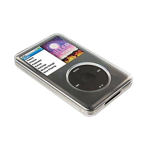 JNSupplier Full Protective Crystal Clear Hard Cover Case for iPod Classic 7th Gen 120GB 160GB, 6th Gen 80GB 120GB, 5th Gen 30GB 5.5 Gen 30GB