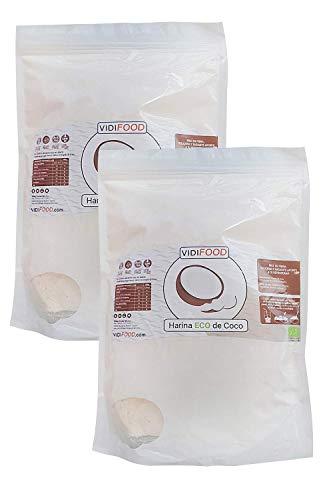 Harina de Coco Ecológica - 2kg - Harina Orgánica con Alto