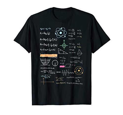 Formelsammlung Shirt - Atomphysiker Teilchenphysiker Lehrer