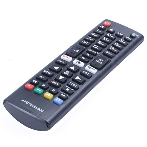 XZANTE TV/Pc Control Remoto para LG Smart Led TV Akb75095308 55Uj630V 65Uj630V...