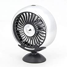 SHYPYG SUV Car's 12V Electric Car Fan 360 Degree Rotatable 3-Speed Double-Headed Car Automatic Cooling Air Circulation Fan...
