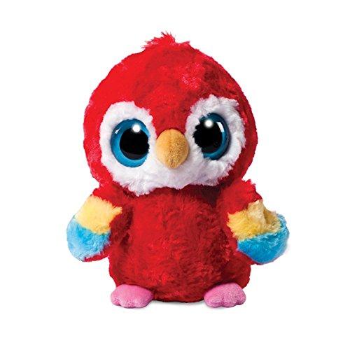 YooHoo and Friends - Loro de Peluche (13 cm), Color Rojo