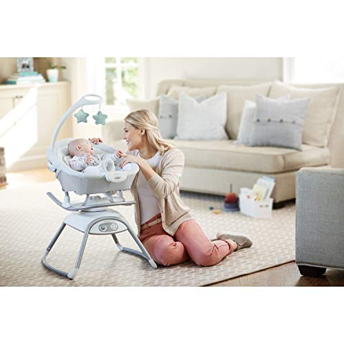 41WOh3fU87L 10 Best Portable Baby Swings on the Market 2021 Review